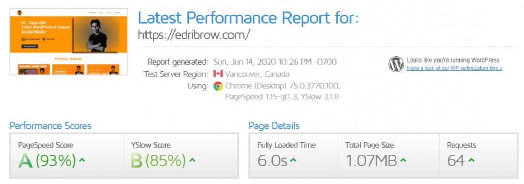 Bagaimana cara menambah kecepatan loading Website