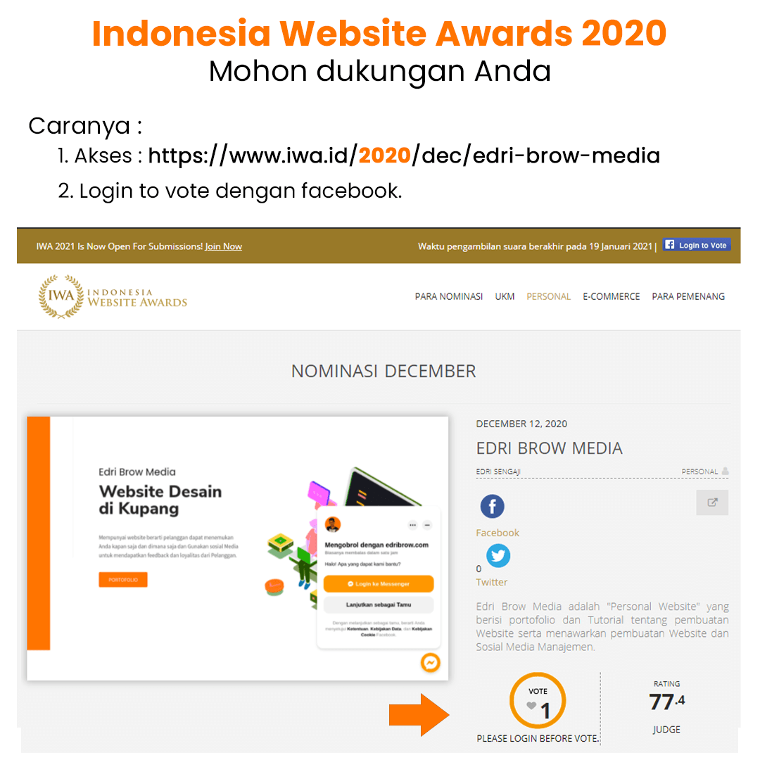 Indonesia Website Awards 2020